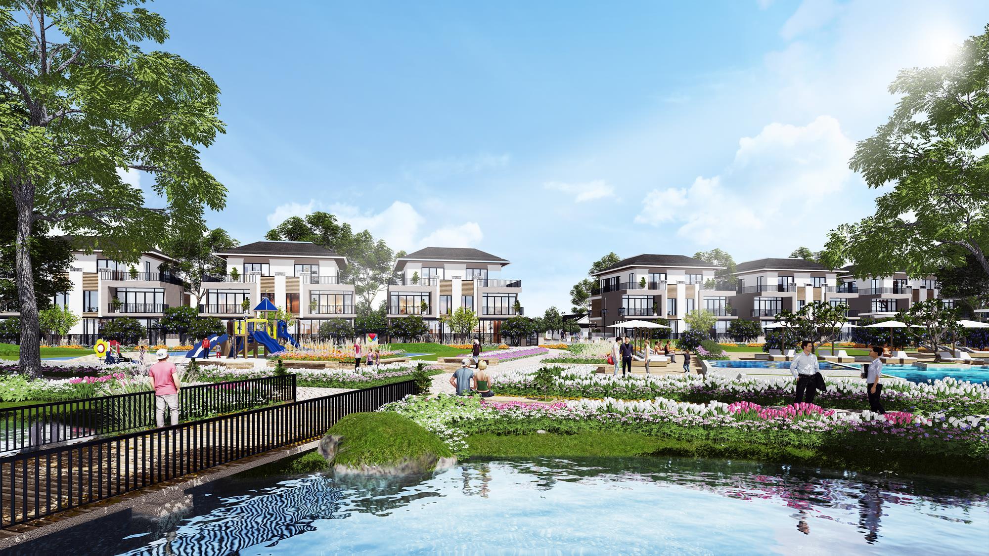 Lavila Đông Sài Gòn Kiến Á quận 2 – Nét chấm phá kiến trúc trong thiết kế nhà phố hiện đại. 2